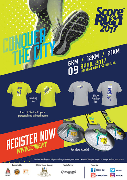 Score Run 2017 Flyer