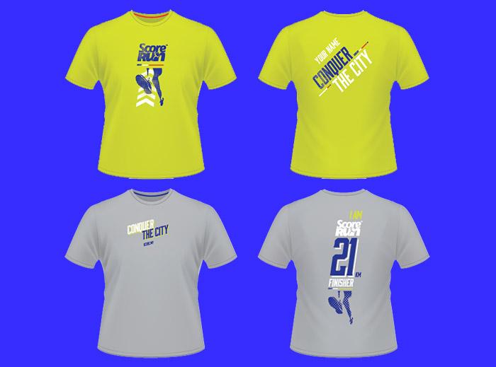 score run 2017 tshirt design