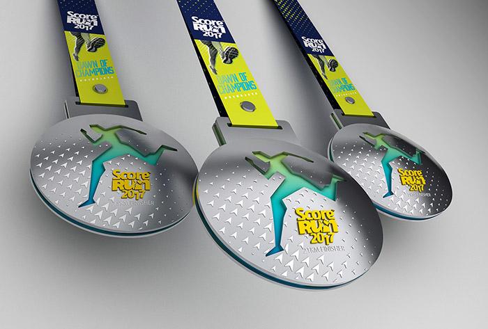 score run 2017 medal