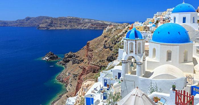 santorini greece places