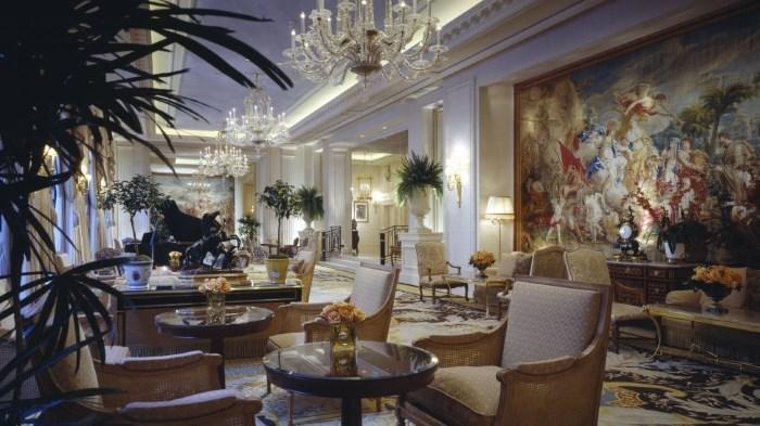 Hotel Georges V in Paris, France
